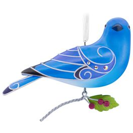 Beauty of Birds Mountain Bluebird Ornament, , large
