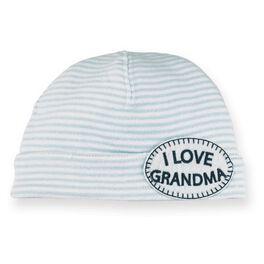Mud Pie® Grandma Newborn Boy Hat, , large