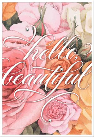 Hello Beautiful Marjolein Bastin Birthday Card