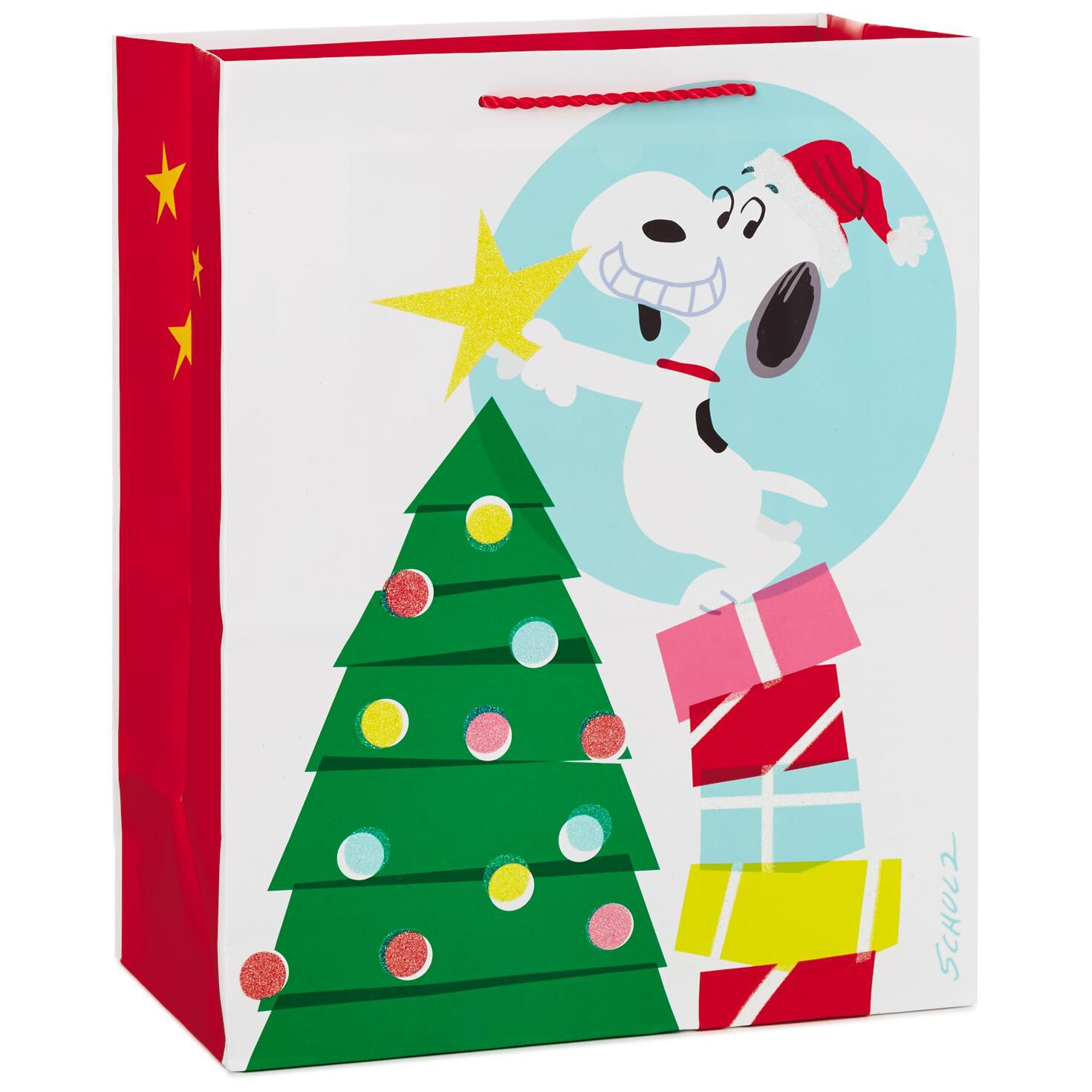 Snoopy christmas gift clip art