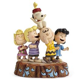 Jim Shore Hooray! Peanuts® 65th Anniversary Figurine, , large