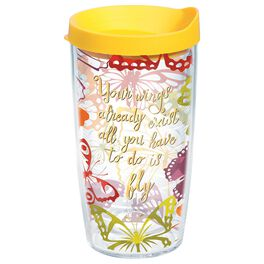Tervis® Butterfly Tumbler, 16 oz., , large