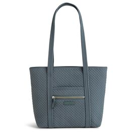 Vera Bradley Iconic Small Tote Bag in Charcoal, , large