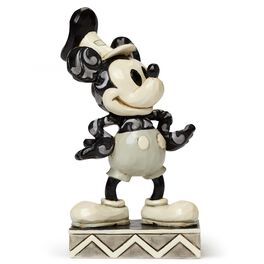 Jim Shore The Original Steamboat Willie Mickey Mouse Figurine, , large