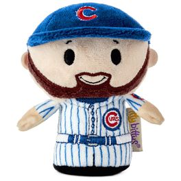 MLB Chicago Cubs™ Ben Zobrist itty bittys® Stuffed Animal Limited Edition, , large