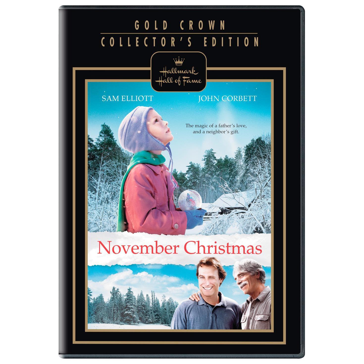 November Christmas DVD - Hallmark Hall of Fame - Hallmark