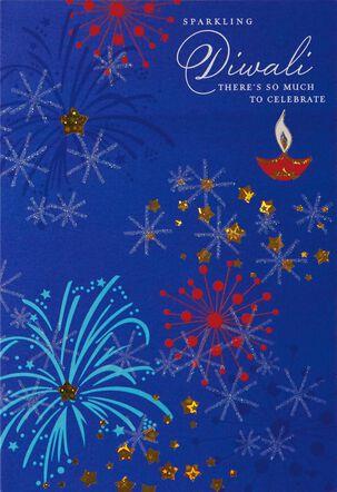 Sparkling Diwali Card