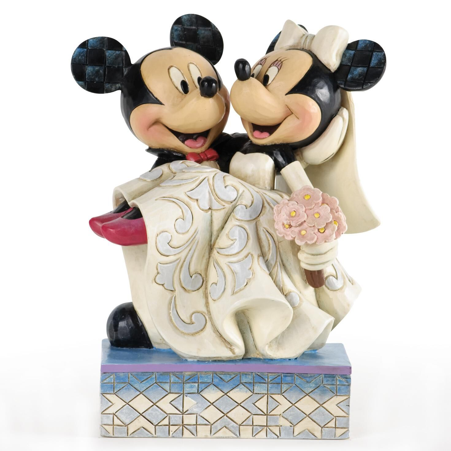 Congratulations, Mickey & Minnie Wedding Figurine - Figurines - Hallmark