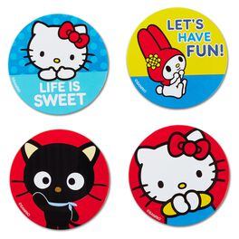 Hello Kitty®, Chococat®, My Melody® Small Buttons—Set of 4, , large