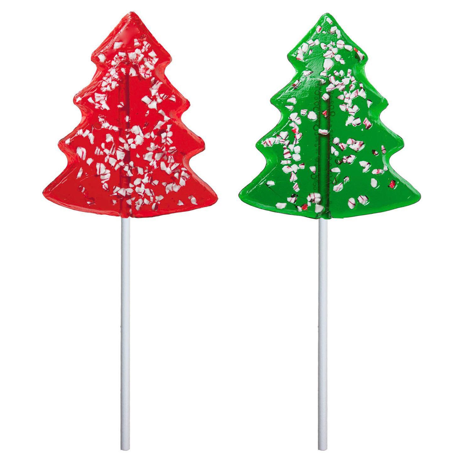 peppermint christmas tree candy lollipop 2 oz candy chocolate hallmark - Candy Christmas Tree