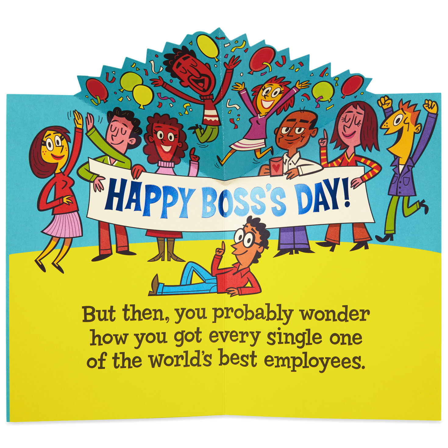 photograph relating to Happy Boss's Day Cards Printable named Nationwide Manager Working day Playing cards Hallmark