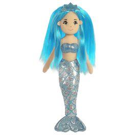 """Aurora World Sea Sparkles Sapphire Mermaid 10"""" Stuffed Doll, , large"""