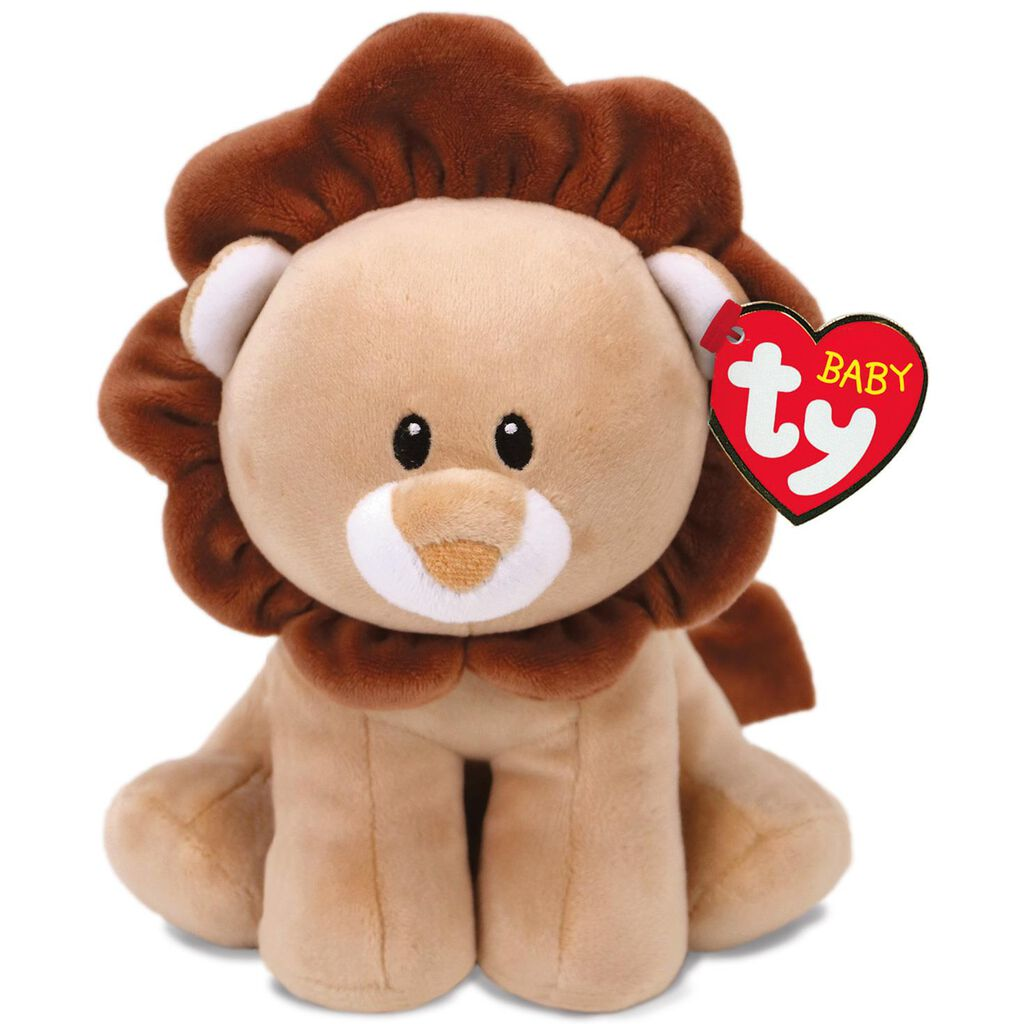 Ty® Baby Ty Small Bouncer Lion Stuffed Animal 112d5bebe470