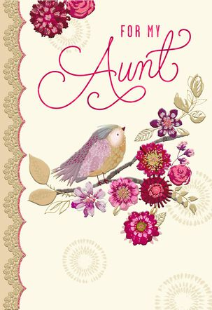 Wonderful You Valentine's Day Card for Aunt