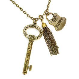 Good Work(s) The One Blessed Necklace, Gold, large