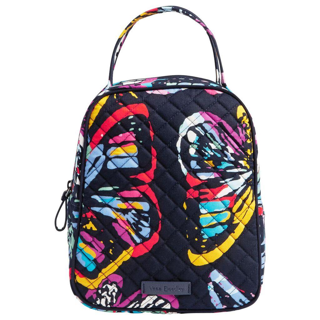 Vera Bradley Lunch Bunch Bag In Erfly Flutter