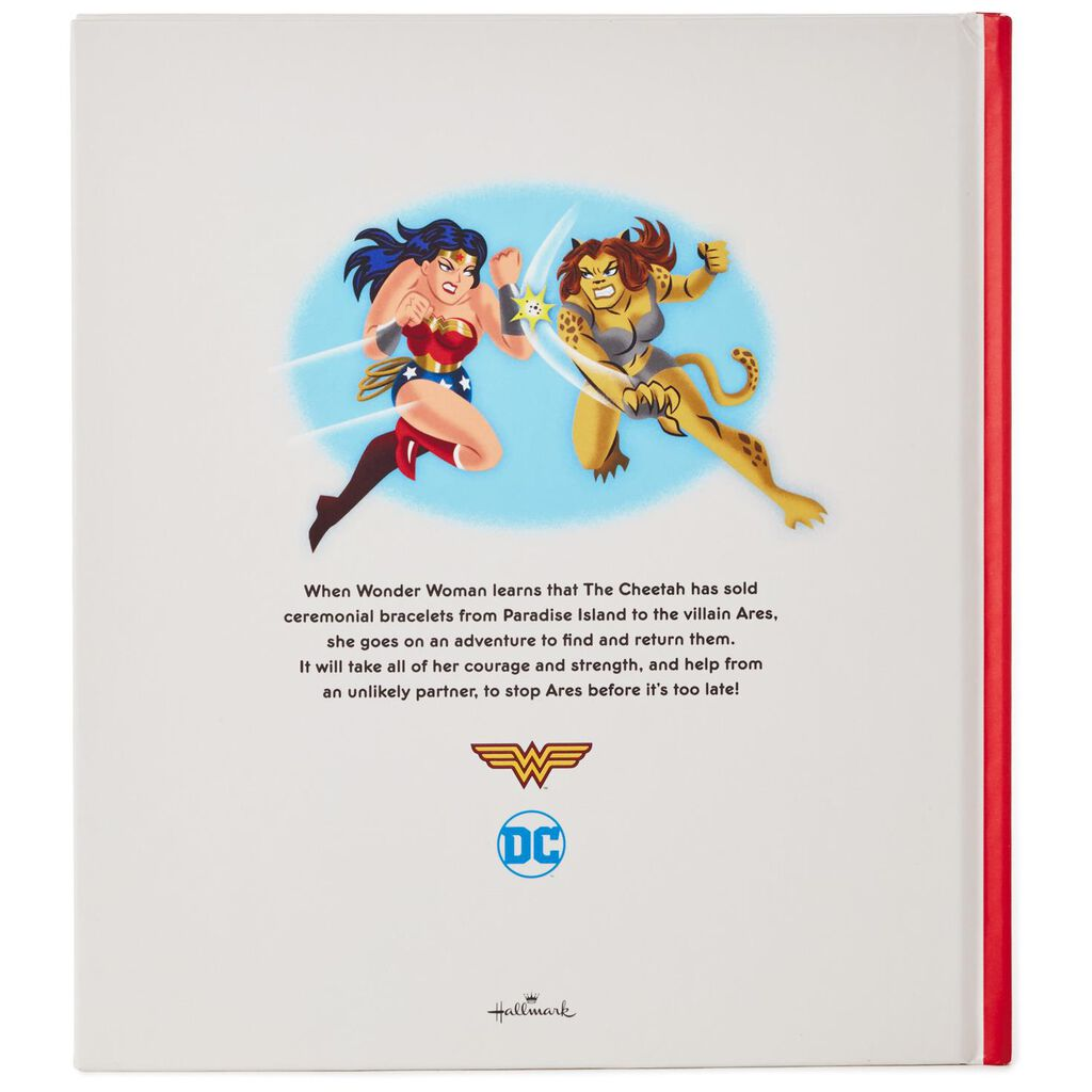 Wonder Woman And The Battle Of The Bracelets Book With Wrist Cuffs