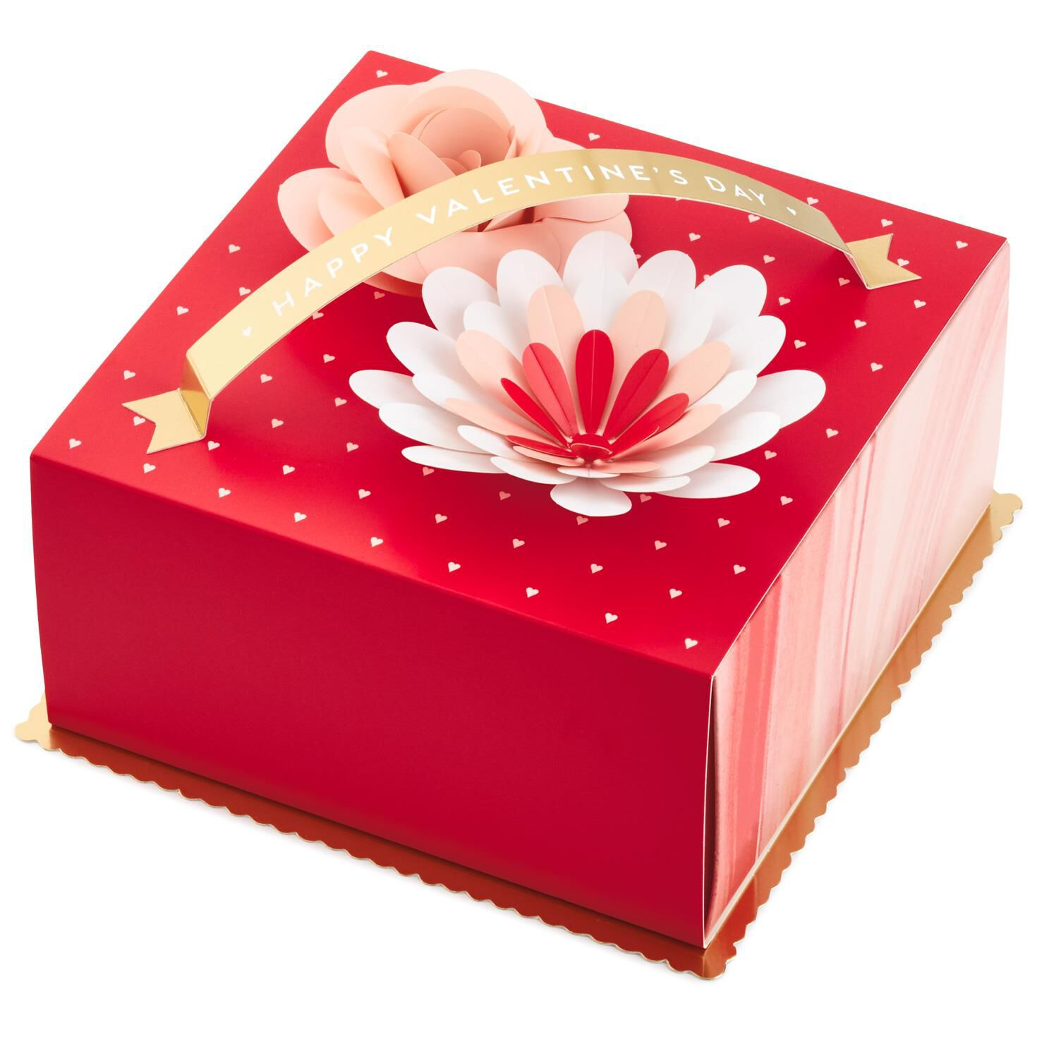 Happy Valentineu0027s Day Gift Box With Flowers ...  sc 1 st  Hallmark & Happy Valentineu0027s Day Gift Box With Flowers - Gift Boxes - Hallmark