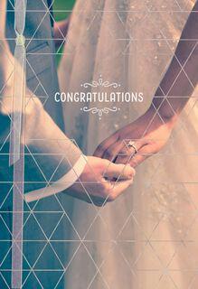 Mazel Tov! Wedding Congratulations Card,