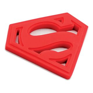 SUPERMAN™ Silicone Teether by Bumkins,