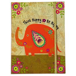 Natural Life Journal Think Happy Be Happy, , large