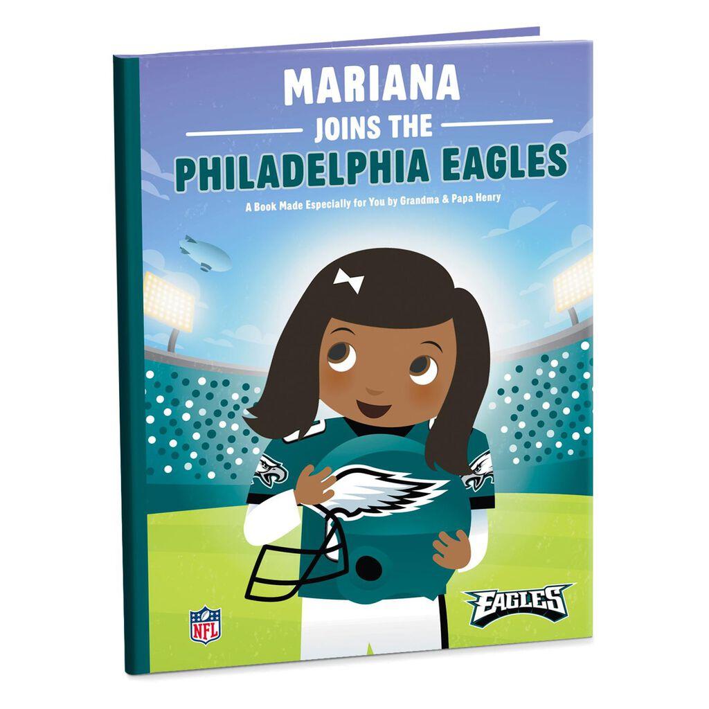 buy popular fdbf6 b0abb Philadelphia Eagles NFL Football Personalized Book