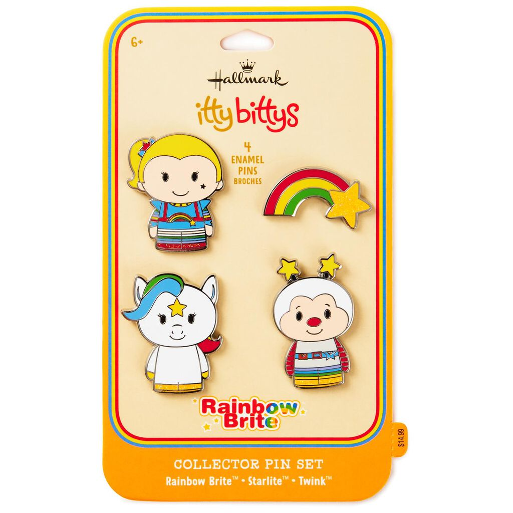 Itty BittysR Rainbow BriteTM Collectible Enamel Pins