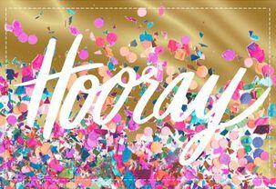 Hooray Congratulations Card