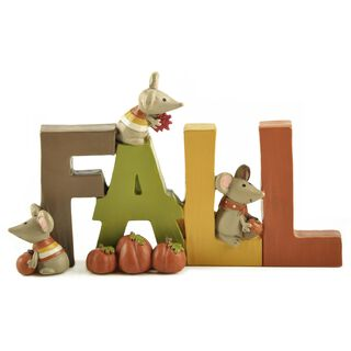 Fall Seasonal Figurine,