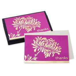 Pink Mum Thank You Notes, Pack of 10, , large