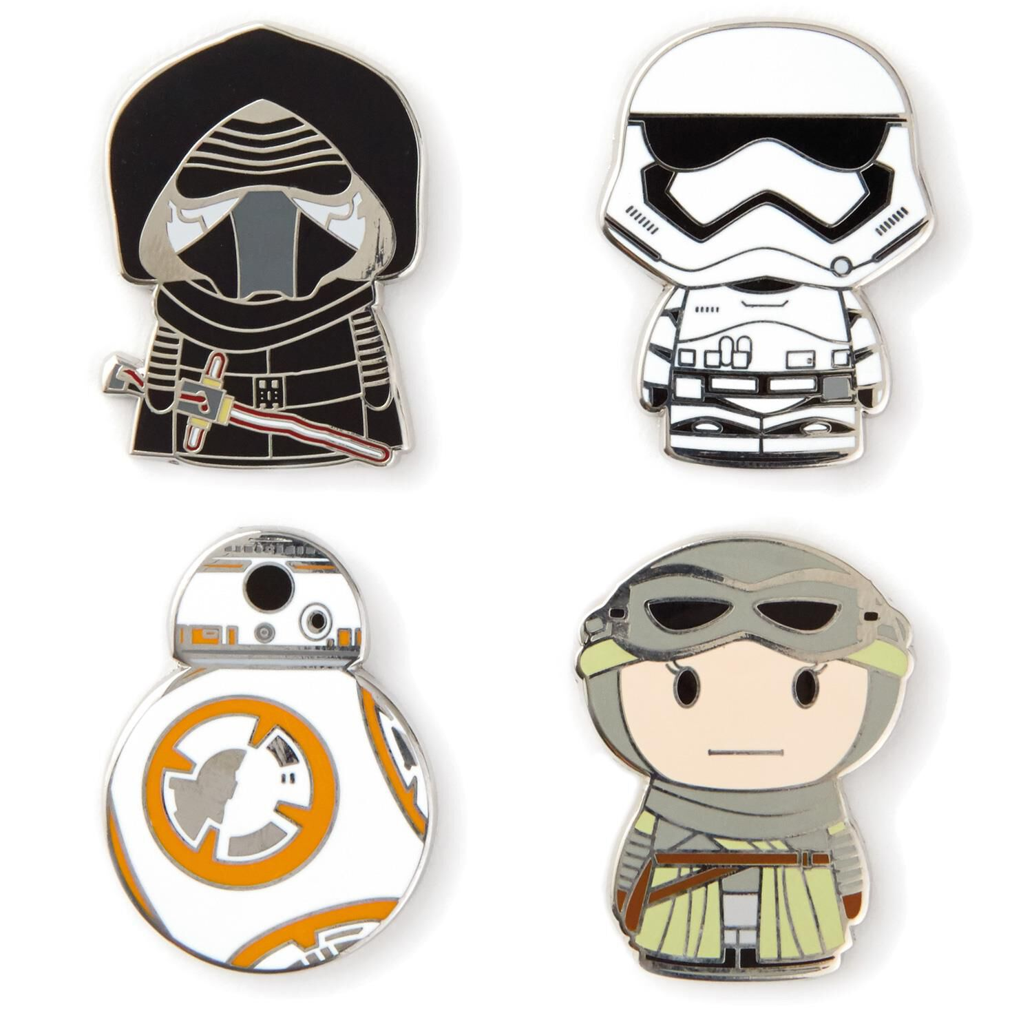 itty bittys star wars the force awakensâ collectible enamel pins