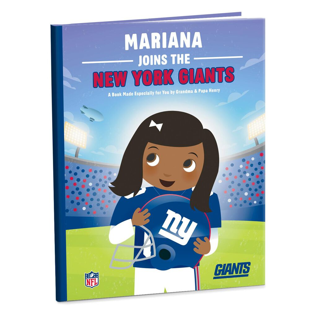 New York Giants NFL Football Personalized Book - Personalized Books ...