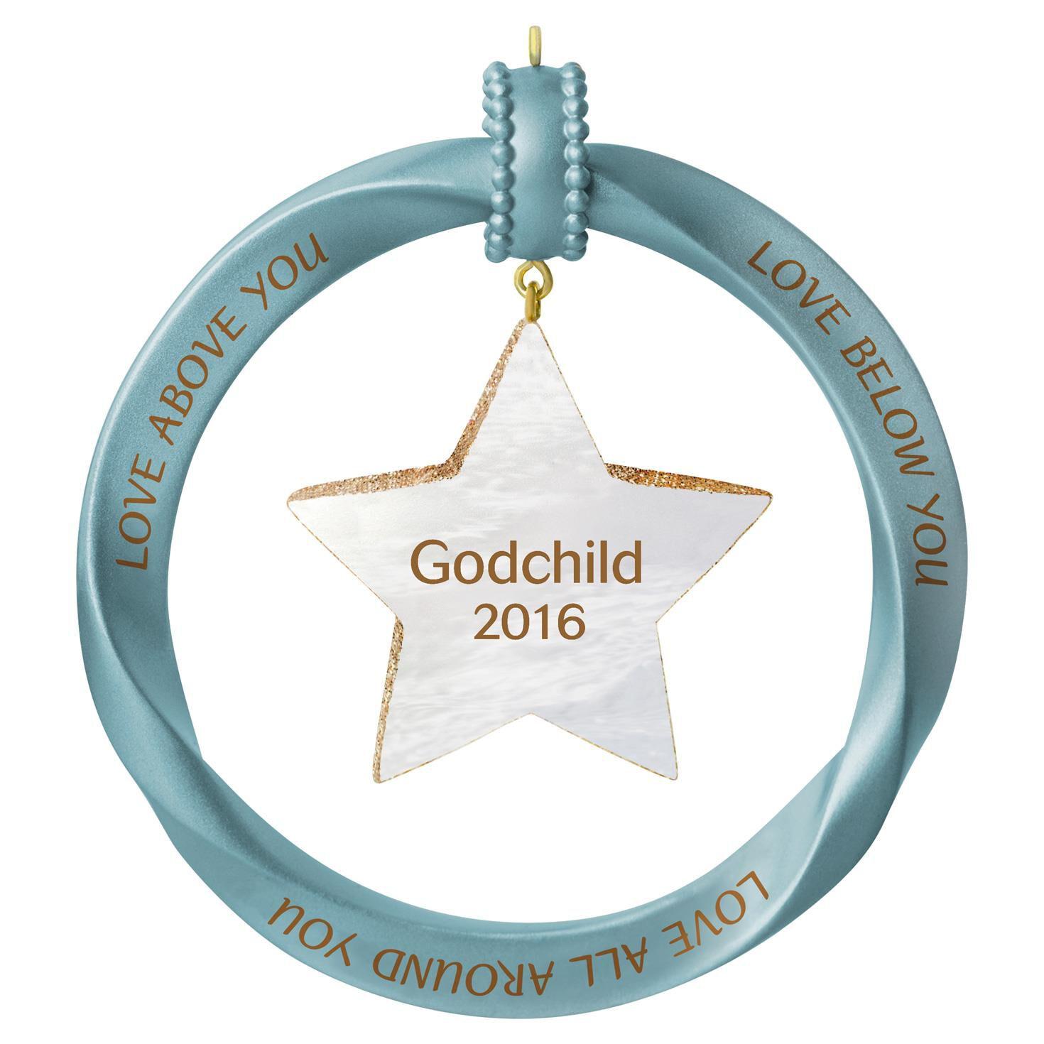 Godchild Star Ornament  Keepsake Ornaments  Hallmark