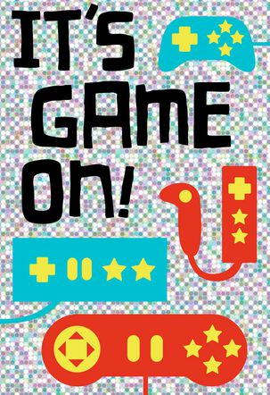 Game On Birthday Card