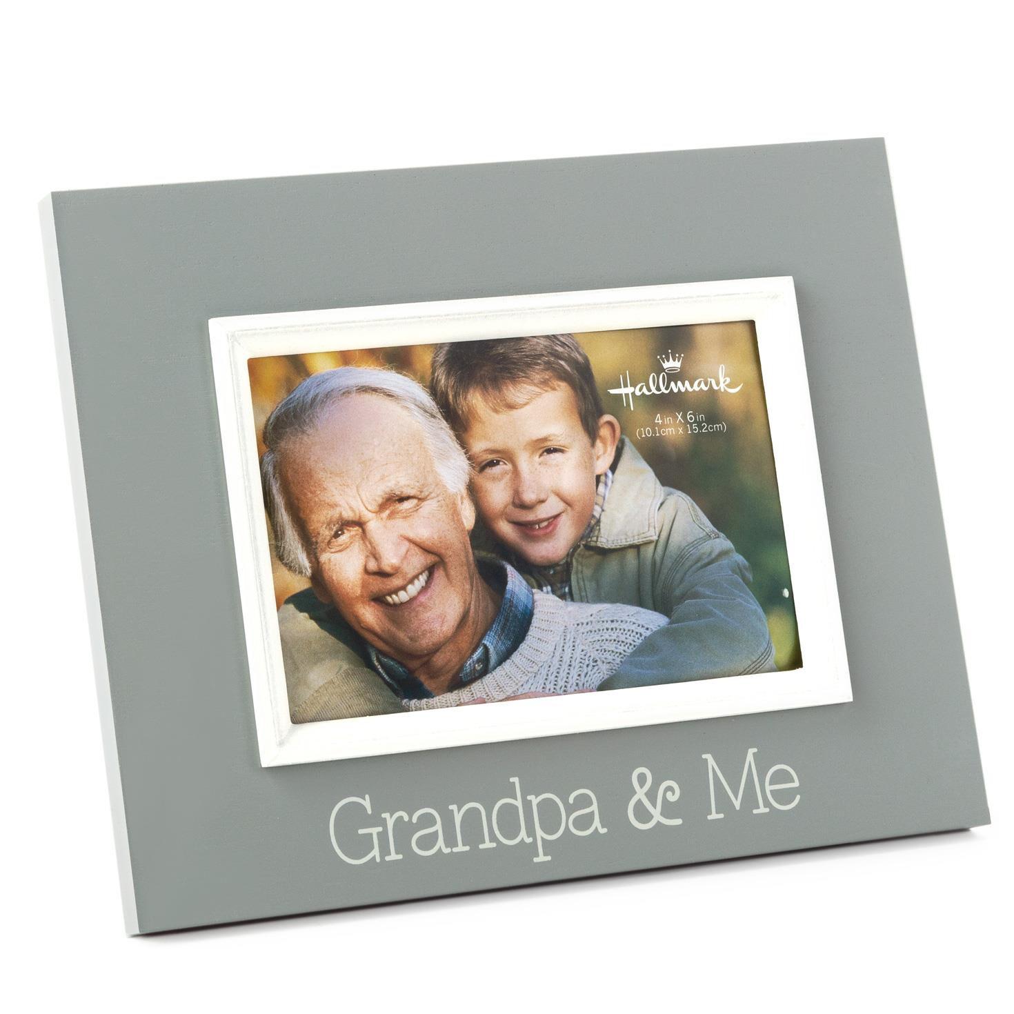 grandpa me wood malden picture frame 4x6 picture frames hallmark