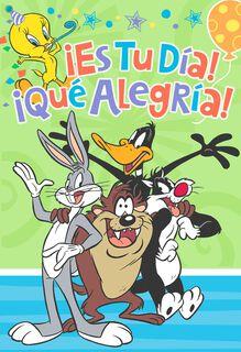 Looney Tunes Happy You Day Birthday Card,