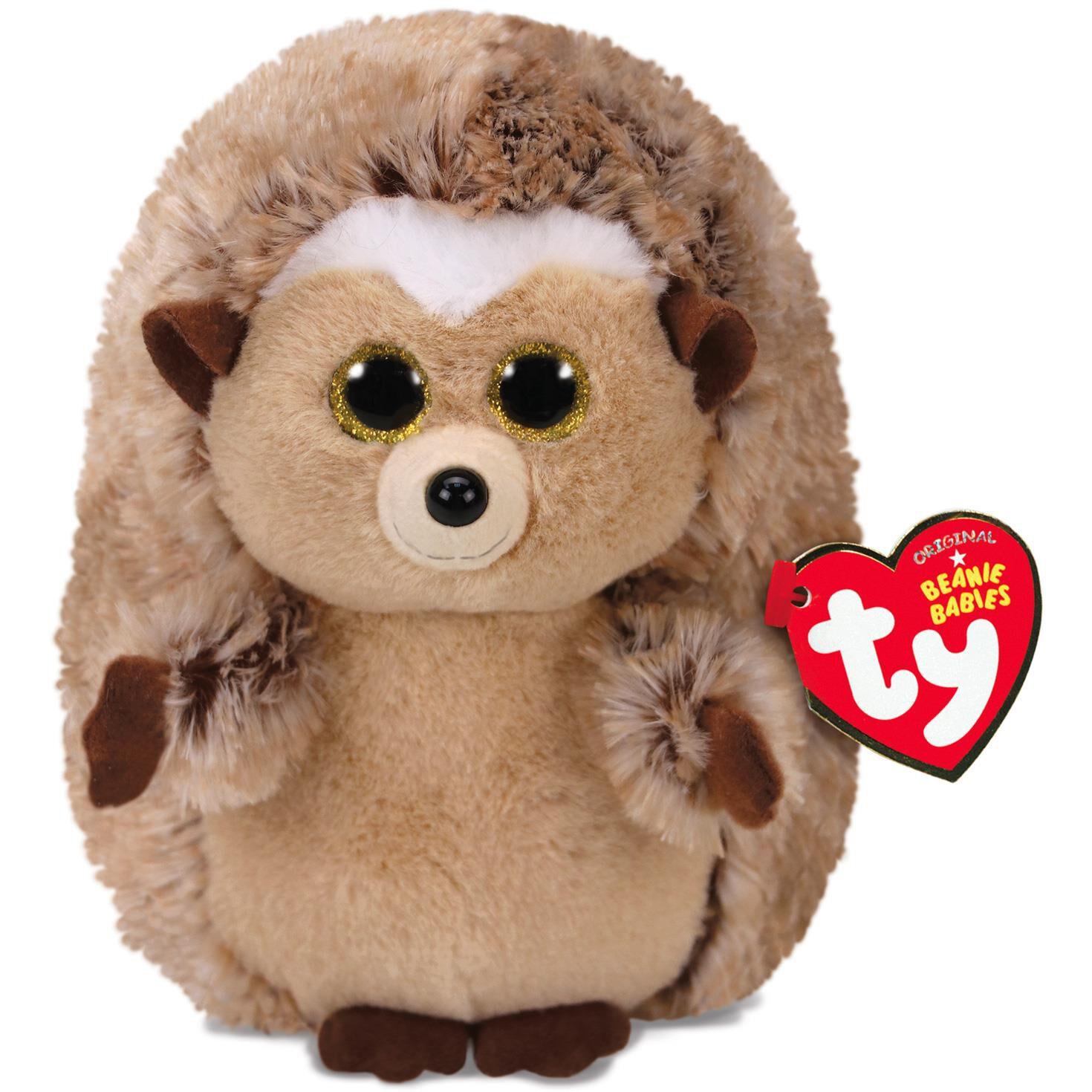 Ty Beanie Babies Small Ida Hedgehog Stuffed Animal 6 Classic