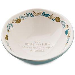 """God Listens Trinket Dish, 5"""", , large"""