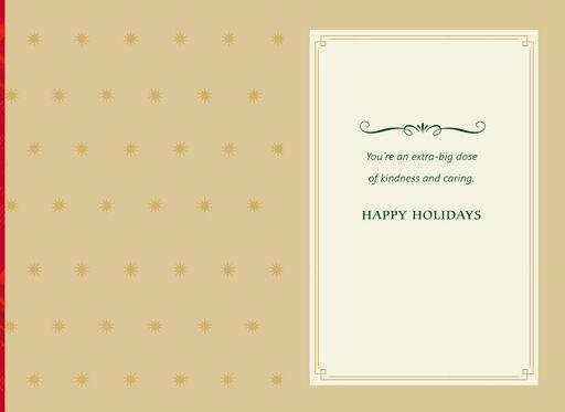 Thank You Christmas Card for Nurse,