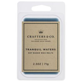 Crafters & Co. Tranquil Waters Wax Melt, 2.5-oz, , large