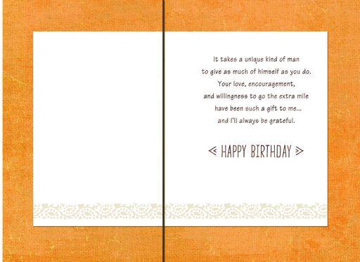 Coastline Happy Birthday Card For Someone Like A Dad