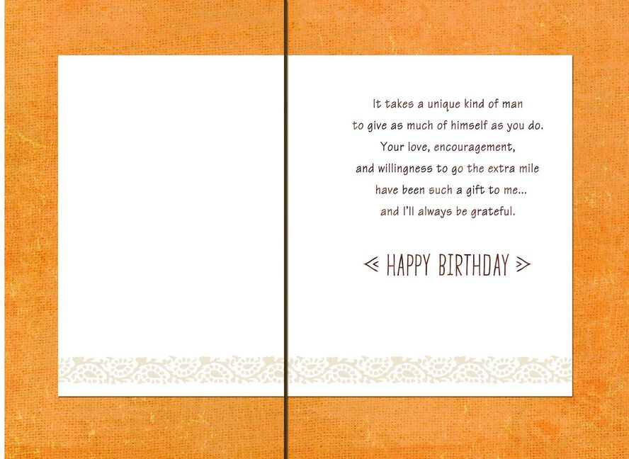 Coastline Happy Birthday Card For Someone Like A Dad Greeting