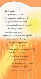 Faith and Hope Spanish-Language Religious Encouragement Card,