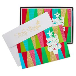 More Merry, More Joy Christmas Cards, Box of 12, , large
