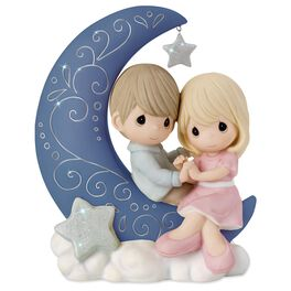 Precious Moments® I Love You to the Moon and Back Figurine, , large