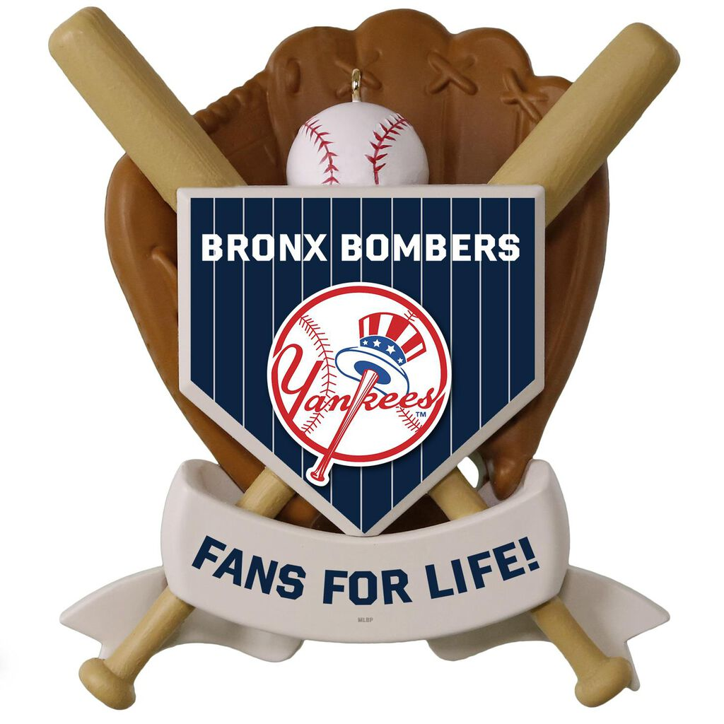 96f8ca11 MLB Baseball Personalized Ornament, Yankees™ - Personalized ...