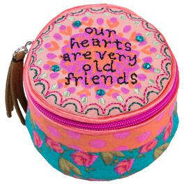 """Natural Life """"Old Friends"""" Round Jewelry Case, , large"""