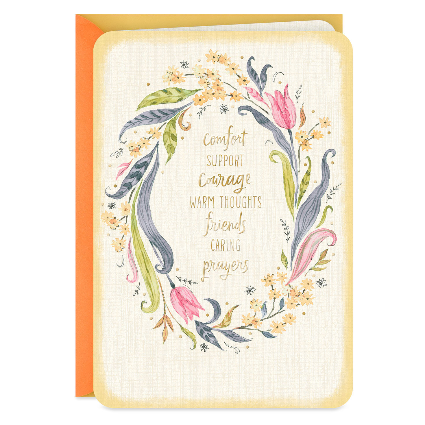 Thinking of You Card Serious illness Cancer treatment Get Well Soon Hope