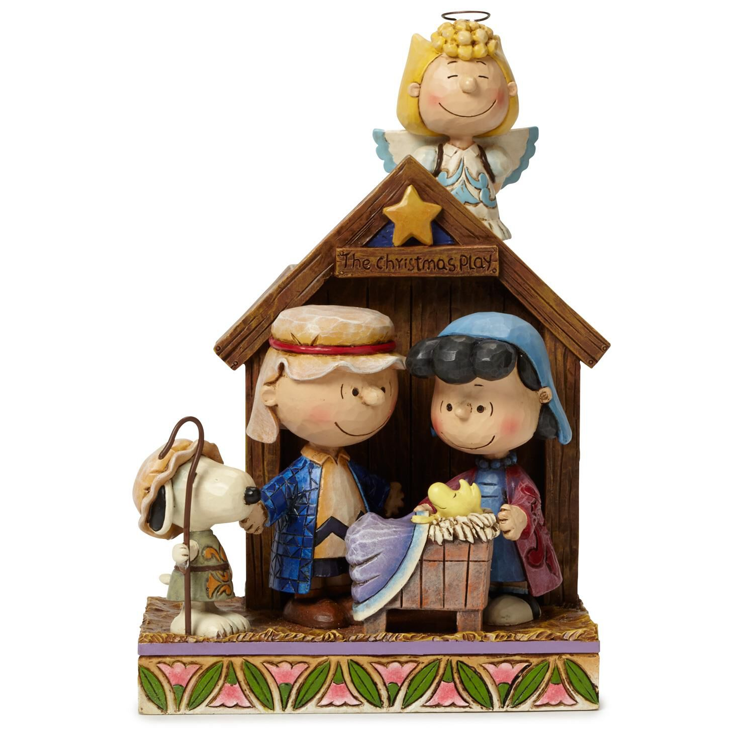 Jim Shore® Peanuts Christmas Pageant Figurine, 1st in Series ...