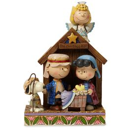 Jim Shore® Peanuts Christmas Pageant Figurine, 1st in Series, , large
